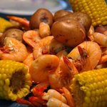 Low Country Boil and Snow Crab Platters
