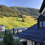 View from room towards the Bacherspitze