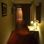 Le couloir vers la chambre