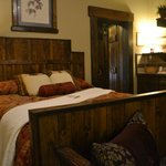 Comfortable old west style room