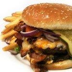 Bacon Cheese Burger - A Moose n' Eddies Favourite!