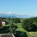 View from the balcony, Hotel Bannwaldsee