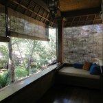 Fish Suite, upstairs balcony