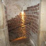 Stair to steep bath