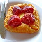 Strawberry Cream Cheese Croissant