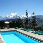 La Piscine du Face au Mont-Blanc