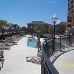 Pool area..