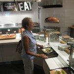 Gourmet Pizzas, Baquette Sandwiches & Salad Bar