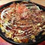 Okonomiyaki au calamar