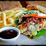 Free Range Chicken Breast Burger