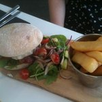 specialist burger - very tasty!