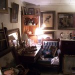 The shop is filled with quality smalls, furniture, paintings, prints & early pattern glass.