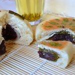 Brioches fourrées au haricot azuki