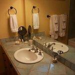 Room 105 bathroom detail