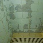 Une des douches du 5*...