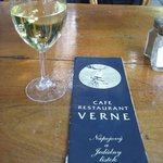 Snavset og slidt menukort