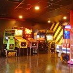 Arcade in the lobby