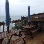 patio rear view overlooking bay