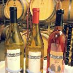 Chardonel, Vidal and Shof's Rose