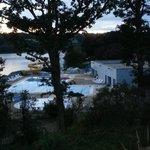 Vue de la grande piscine