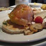 Smoked Salmon & Scrambled Eggs Breakfast