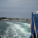 Portaferry Hotel from the ferry