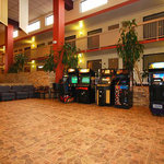 Pool Area with Arcade Games