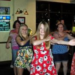 Dancing at the Thursday night Quiz