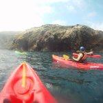 Kayaks and caves