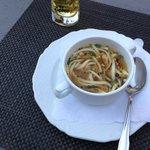 Fritten zuppe