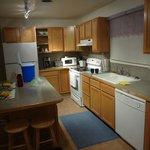 Kitchen, eat area