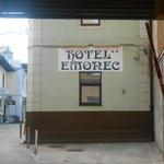 Entrata dell'Hotel Emonec