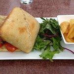 le hamburger façon foie gras