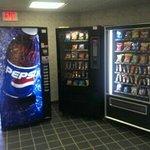 First floor vending machines.