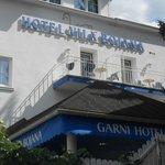 Entrata dell'Hotel Bojana