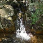 medium waterfall near Big Meadow