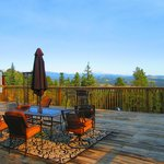 Breathtaking views of the Rockies.