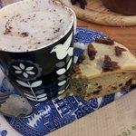 coffee and cake £3.95
