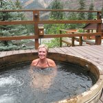 Visitors stay at Box Canyon because of the Hot Springs