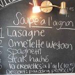menu midi du 6 août