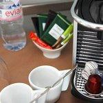 Machine à café Nespresso dans chaque chambre