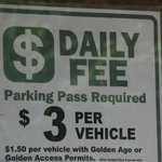 Fee for the falls
