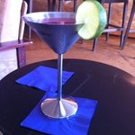 cool way to serve a Cosmo