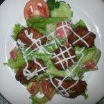 Chicken Karage Salad
