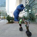 Blue Bear and the boys.  :)