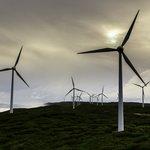 Sunset at Albany Wind Farm
