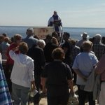Mass on the beach to Bless the Waters