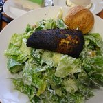 blackened salmon caesar