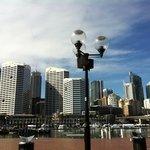 Cockle Bay Wharf - close by