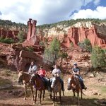 Cowboy Rock Ride Little Bryce Canyon (Adam & Eve Formation)